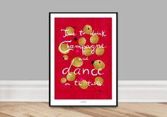 Kunstdruck Poster / Dance von typealive auf DaWanda.com