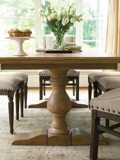 Universal Furniture Dining Room Farmhouse Table Base 023756-BASE - Woodley's Furniture - Colorado Springs, Fort Collins, Longmont, Lakewood, Centennial, Northglenn
