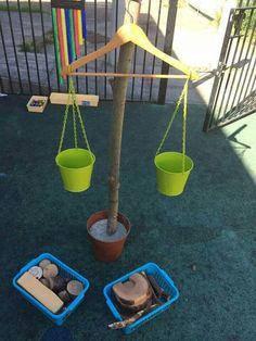 """Évaluer le poids d'objets...vérifier ou...tout simplement peser...une balance """"système D""""..."""