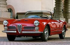 Looks exactly like our second Alfa...loved that car.  Alfa Romeo 2000 Spider by Touring (1959)
