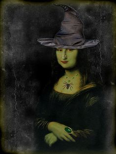 Halloween Mona 2008   I had so much fun with last year's Hal…   Flickr