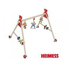 Portique d'activités, déambulateur, en bois, 2 en 1, décor Ourson. 5 hauteurs réglables, sujets du milieu détachables, roues. 2 en 1: portique d'activités, déambulateur pour apprendre à marcher. Baby, Wheels, Middle, Baby Humor, Infant, Babies, Babys