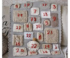 sticka advent kalender