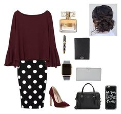 """""""Revival ⛪️⛪️"""" by tailorgrace1 on Polyvore featuring So in Fashion, MANGO, Hadoro, Kate Spade, Casetify and Givenchy"""