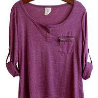 Perfect Shirt, Berry - RESTOCKED