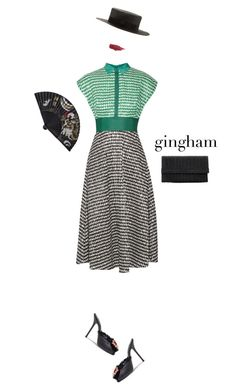 """""""!!!"""" by maria-laura-correa-da-silva ❤ liked on Polyvore featuring Gladys Tamez Millinery, Lela Rose, Dolce&Gabbana and Lily Lolo"""