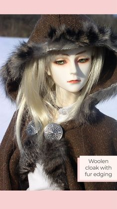 Yalki Palki Bespoke clothing for Ball Jointed Dolls Open for commissions Bespoke Clothing, Ball Jointed Dolls, Cloak, Winter Hats, Wool, Clothes, Instagram, Fashion, Tall Clothing