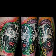 #clown #custom #tattoo #Manchester #nh #Nashua #concord #Boston www.JakeCustomTattoos.com 603-833-3458 www.TattooParlorManchester.com #tattooing #piercing #artist #shop #parlor