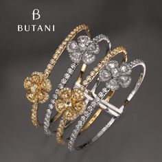 Every piece of #Butani spring bangle is meticulously handcrafted for comfort and opulence #ButaniJewellery #bangle