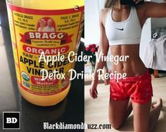 Do you want to cleanse your system and lose weight? Then discover this here this Apple Cider Vinegar Detox Drink Recipe; Honey, Cinnamon, and Lemon.