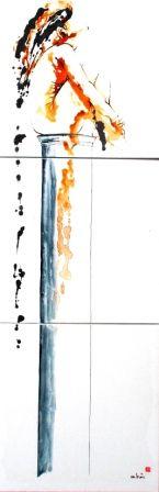Monick Bres Artiste Peintre à Trans en Provence. | Annuaire Culturel