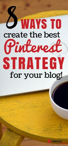 Pinterest Strategies: Learn how to create your own amazing pinning strategy by paying attention to these 8 things. Social Media Marketing | Pinterest Tips | Blogging for Beginners