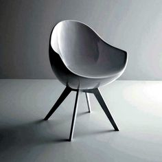 Design chair - stylish decor options and elegant -  Design chair Jane is egg-shaped cocoon, seat unit and armrest.