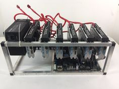Crypto Currency Mining Rig 6 x RX480 8GB Ethereum 175 MH/s Zcash 1800 Sols/s
