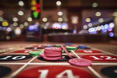 Play poker :)  Tags #binions #gambling #las vegas #vegas #roulette #chips #bokeh