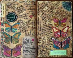 Sherri Pelletier using the Balzer Designs Butterfly stamps!
