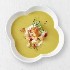 Recette de potage poire, poireau et cari Broccoli Soup Recipes, Cream Of Broccoli Soup, Vegetable Recipes, Cooking Time, Cooking Recipes, I Love Food, Eating Plans, Fall Recipes