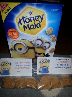 You wouldn't have to use minion cookies, this label would work for ANY treat! Student Treats, School Treats, Student Gifts, Testing Treats For Students, Student Rewards, Staar Test, Test Taking Strategies, Test Day, Student Motivation