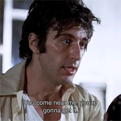 'A Dog Day Afternoon' still played like a gangster by the great Al Pacino. Great Movie...