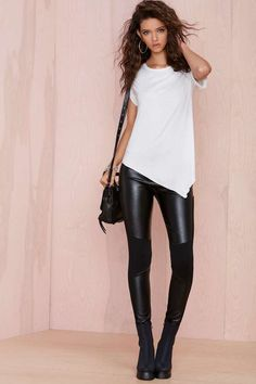 Nasty Gal Fast Lane Leggings