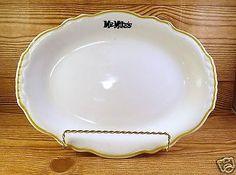 Mr-Mike-039-s-Oval-11-034-Platter-Plate-Restaurant-Ware-Retro-Serving-Dinner-Mike