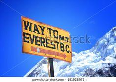 track to mount everest basecamp nepal