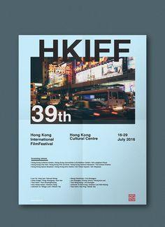 HKIFF* Hong Kong International Film Festival 2016 on Behance