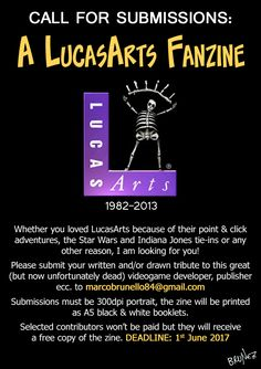 Please do not forget to include your name and a link to your website or portfolio when submitting. LucasArts, its logo, LucasFilm etc. are © their respective owners. No copyright infringement intended,...