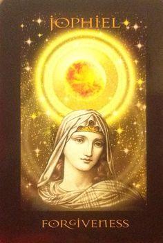 Archangel Jophiel- Angels of Atlantis deck by Stewart Pearce