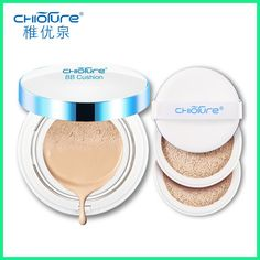 CHIOTURE Water BB Cream Cushion Makeup Base Foundation Maquiagem Creme Cosmetics Concealer Natural Brighten Maquillaje Make Up
