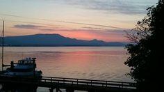 #Tripadvisor   Salt Spring Island sunset from Seaside Kitchen     795 Vesuvius Bay Rd, British Columbia V8K 1L6