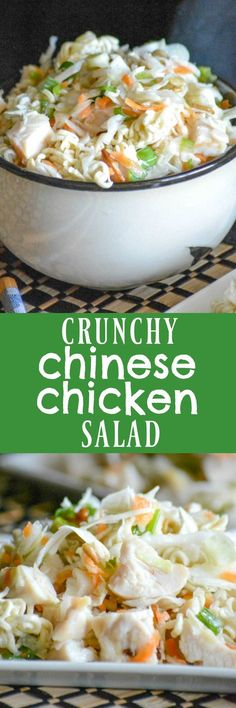 Move on over traditional chicken salad, because this Crunchy Chinese Chicken Salad is everything you've ever dreamed of. It marries flavor, texture, and gives it an Asian twist that is undeniable and quite additive. It's a sure fire hit at any get together this Summer.