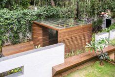 Un padiglione in giardino