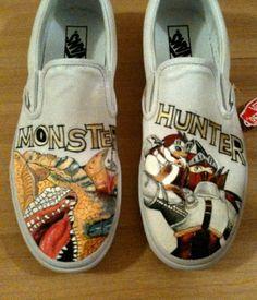 Monster Hunter on Vans