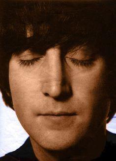 John Lennon's eyelids. Rare, I know.