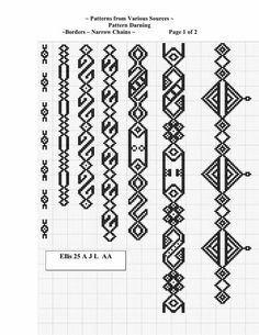 Best 11 Set Of Borders, Embroidery Cross, Vector Royalty Free Cliparts, Vectors, And Stock Illustration. Mini Cross Stitch, Cross Stitch Borders, Cross Stitch Designs, Cross Stitch Patterns, Folk Embroidery, Cross Stitch Embroidery, Embroidery Patterns, Knitting Patterns, Loom Beading