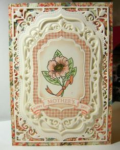 Mothers Day Flower by bhappystamper - Cards and Paper Crafts at Splitcoaststampers