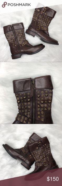 14430e93b92c UGG Australia Women s Conor Studs Leather Boots