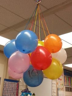 End of the year countdown .. 13 more days of school!  Every day we will pop a balloon to reveal a fun surprise for the day .. stay tuned..