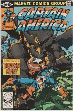 Captain America V1 248.  VF/NM. Aug 1980 by RubbersuitStudios #captainamerica #comicbooks #johnbyrne