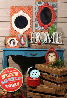 #CAGiftShow exhibitor #VIPInternational prides itself on offering a vast selection of unique home and garden decor - everything from clocks and signs, to bistro sets and gazebos.