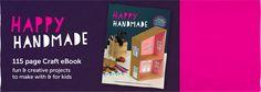 mollymoocrafts.com - NEW & Exciting Craft Book – Happy Handmade