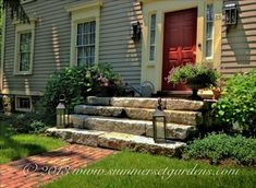 Orange County, NY Country Garden & Masonry Project - traditional - landscape - n. - Orange County, NY Country Garden & Masonry Project – traditional – landscape – new york – S - Brick Walkway, Front Walkway, Front Steps, Front Porch, Brick Path, Door Steps, Front Entry, Front Doors, Primitive Homes