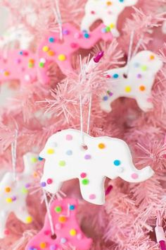 Use model magic and pom poms to make these DIY circus animal cookie ornaments for gifts or for your own Christmas tree! Candy Land Christmas, Candy Christmas Decorations, Diy Christmas Ornaments, Homemade Christmas, Holiday Crafts, Christmas Time, Holiday Fun, Merry Christmas, Frugal Christmas