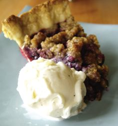 Summer Berry Recipe - Mixed Berry Struesel Pie