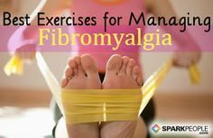 Exercise can help with so many conditions. Good read. Exercising With Fibromyalgia via @SparkPeople