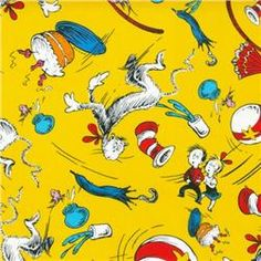 Dr. Suess Fabric from www.fabric.com