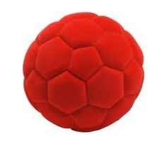 Soccer Ball Rubbabu Red for only $6.95