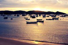 Boote im #Abendrot, #Brasilien  #Sunset in #Brasil    © Easyvoyage