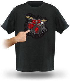 GeekAlerts has shown you some pretty cool shirts and everyone enjoys t-shirts.  They are easy to just throw on and they usually make a personal statement.  Well if you like music and you love impromptu gatherings, then the Electronic